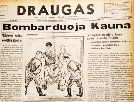 Draugas' The Lithuanian World-Wide Daily Newspaper, 1909